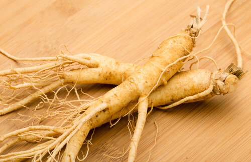 Ginseng root for hair growth