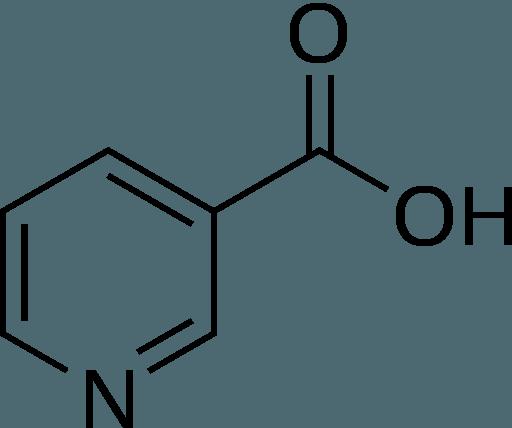 The molecular structure of Niacin
