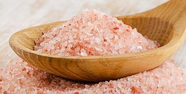 himalayan salt to exfoliate scalp