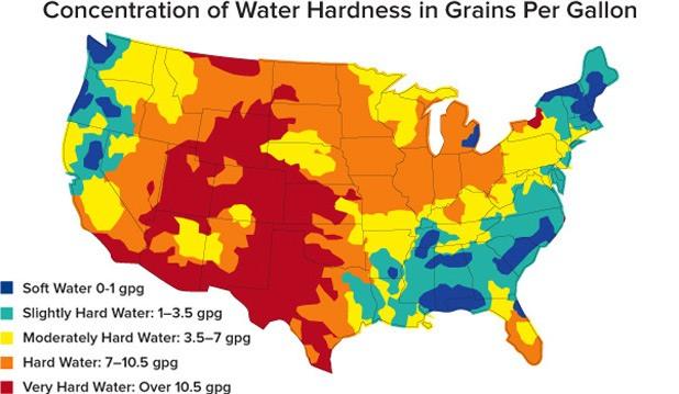 Hard Water Areas >> 3 Ways Hard Water Can Cause Hair Loss Hairguard