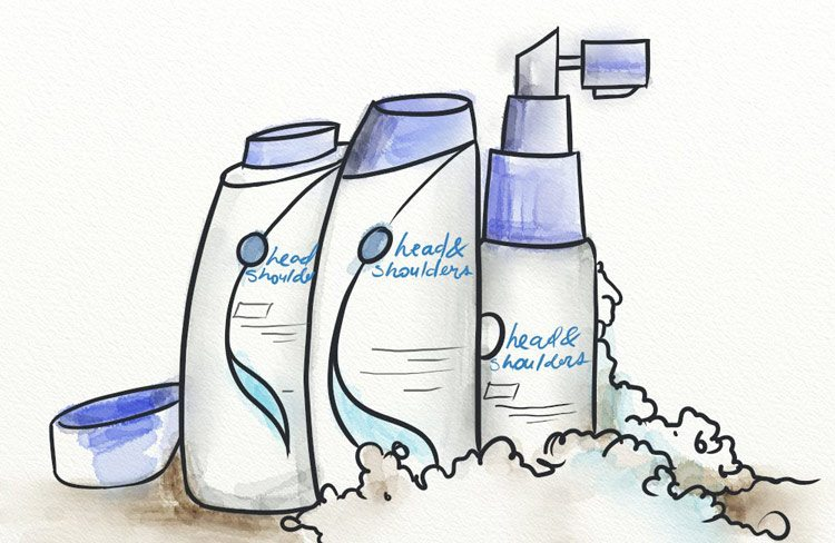 Head and Shoulders contains selenium sulfide, an ingredient shown to cause hair loss.