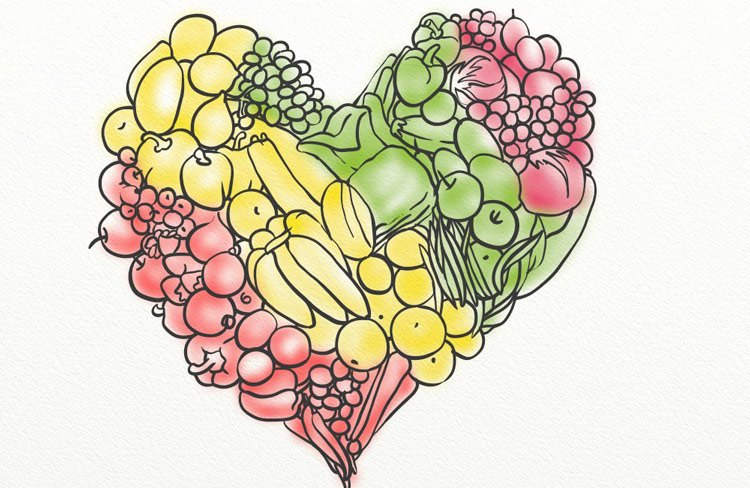 Vitamins and nutrients are abundant in fresh fruits and vegetables