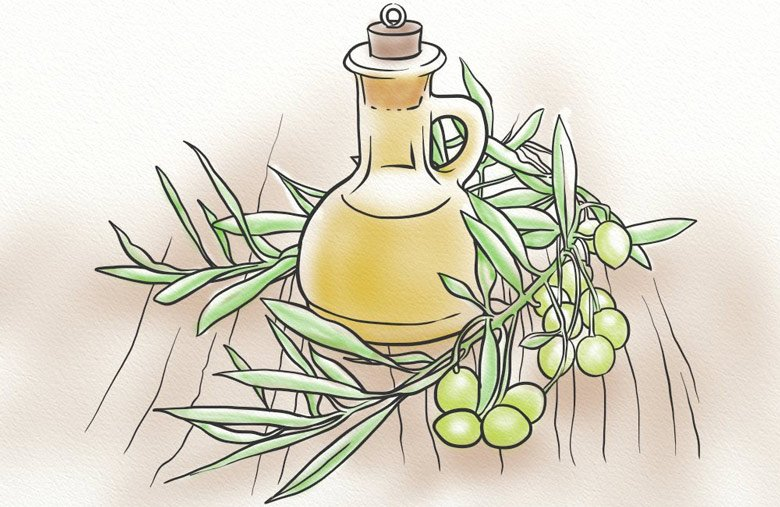 Olive oil DIY hair recipes