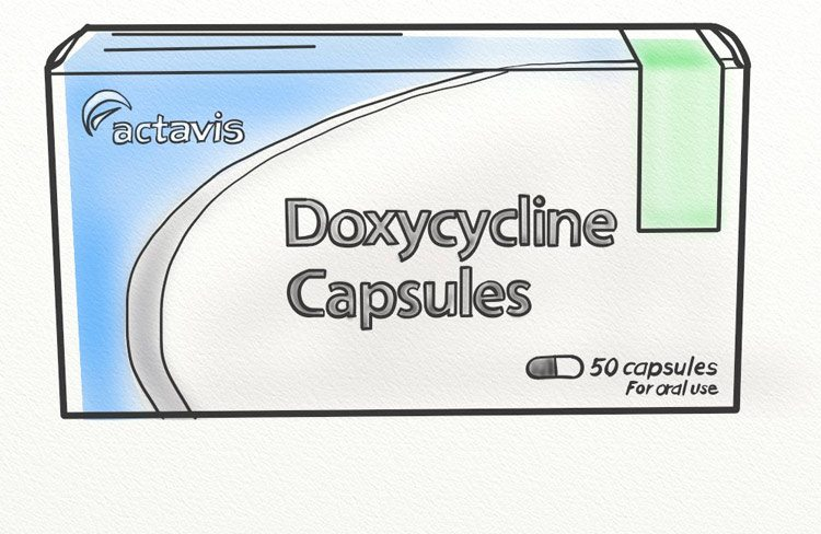 Doxycycline antibiotic prescription