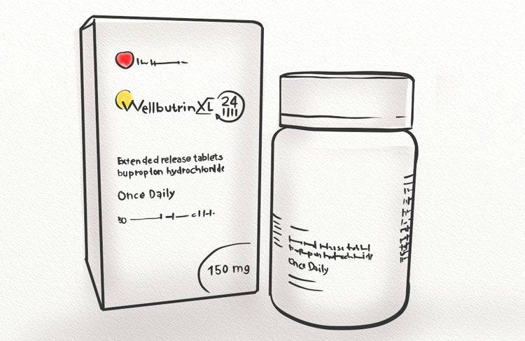 Wellbutrin prescription can cause hair shedding