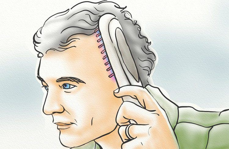 Use a laser comb
