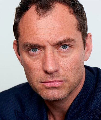 Jude Law with a stage 4 hairline