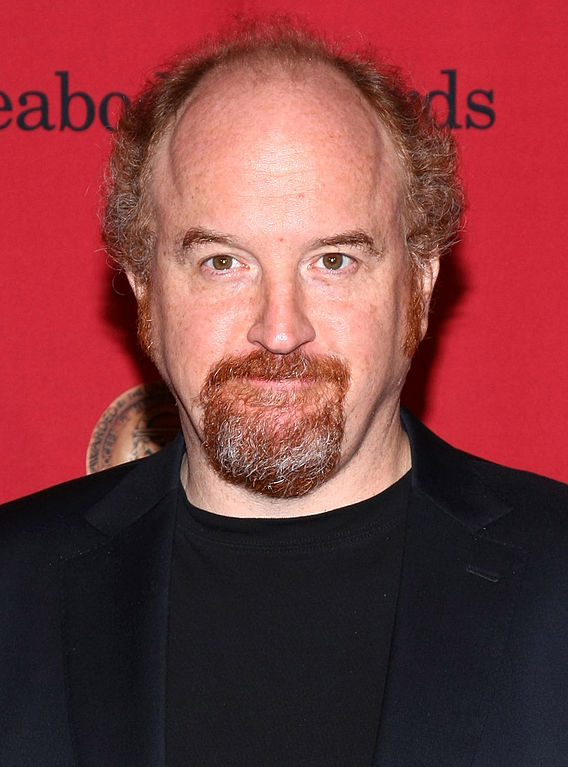 The comedian Louis C.K. with a stage 6 hairline