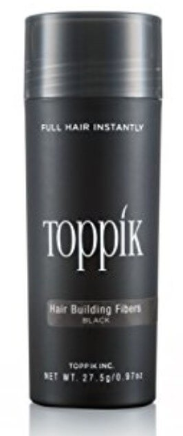 A bottle of Toppik