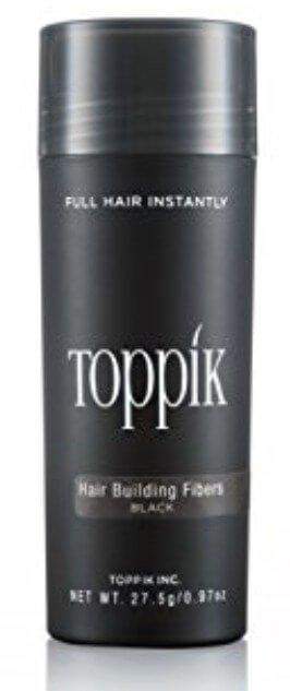 A bottle of Toppik