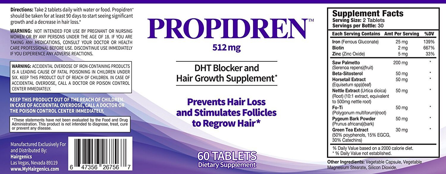 Propidren by HairGenics: Review - Hairguard