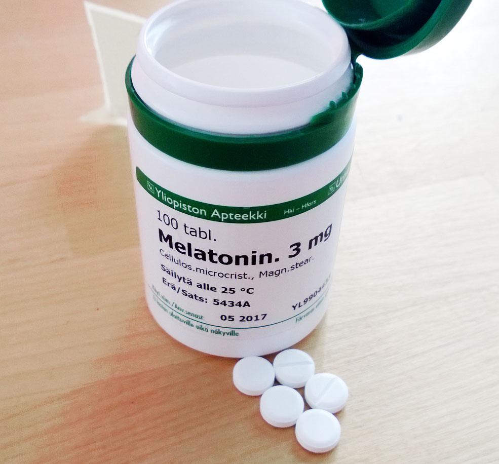 A melatonin prescription.