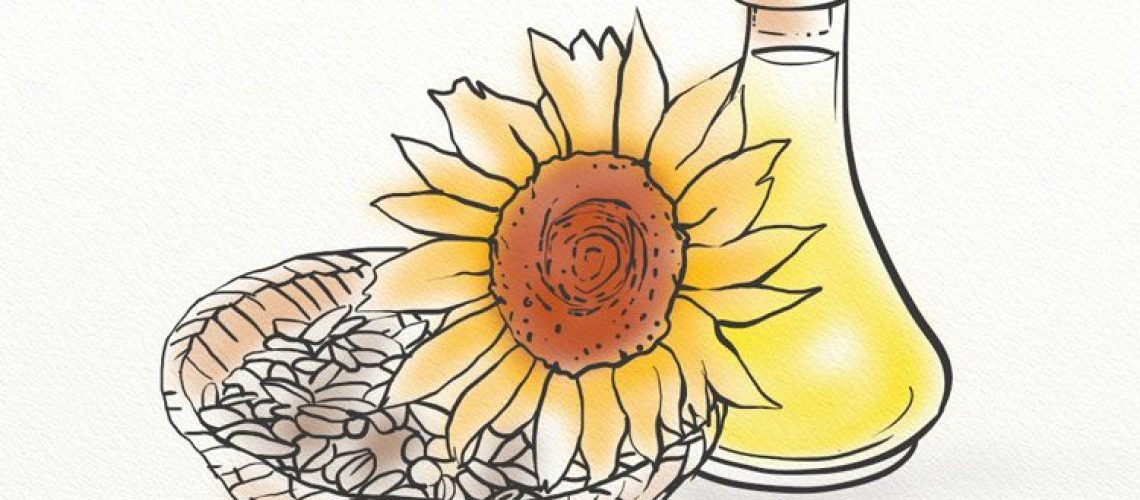 Sunflower seed oil can be used topically and internally